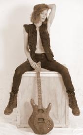 Kelly Nunn Martin - Sepia Guitar