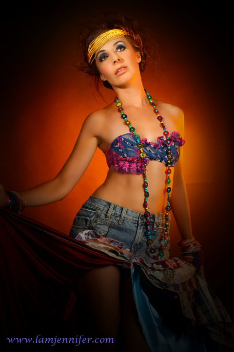 Eva F - Fashion Photoshoot for Scene Magazine