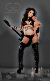 Christine - Rockstar Mama (5 1/2months pregnant)
