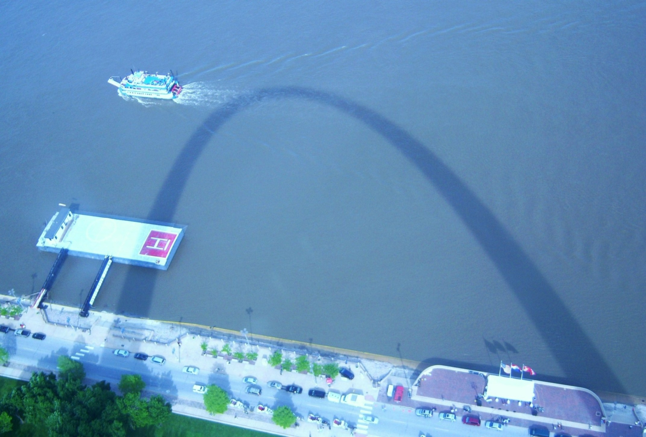 Sean Russell - Atop the Gateway Arch