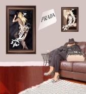mia vaughn - prada editorial shoes and handbag