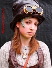 Bluebells-photo - Steampunk Girl
