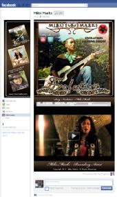 Showcase Faces Worldwide - Facebook Fan Page Design
