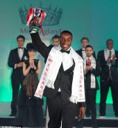 Vaughan Bailey - Winning Mr England