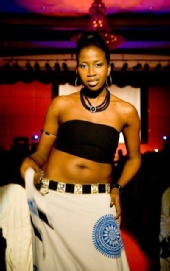 nnenna - me during a show!