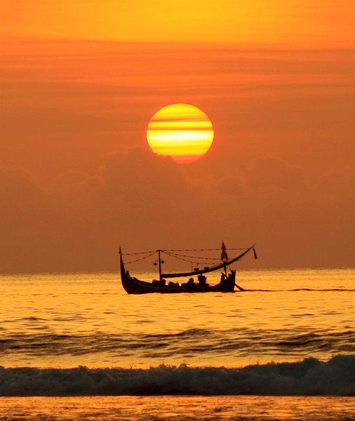 Iwan Surya - Sunset at Uluwatu