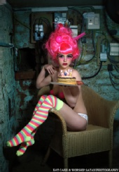 eat cake & worship satan photography - CUNT