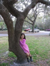 Isabella - By the tree
