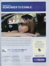 April Watts - National Print Ad for Allstate Insurance