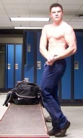 Justin Masters - Tight Body Pose 1