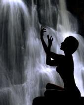 Alexa Rose - Alexa and Waterfall
