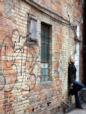 Charmaine - Saskatoon's most photographed back alley...