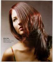 Tara Lynn - Hair Model close up
