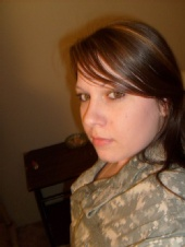 Sasha Vaughn - Army ACU's