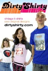 Julie Van - Dirty Shirty print ad