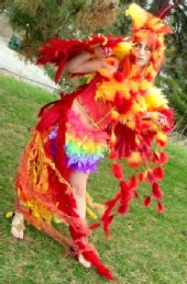 Natalie - Phoenix: Costume