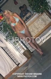 Jessica Rutherford - Aqua Fashion Show