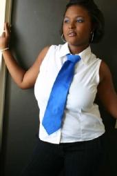 Khia Jiggetts - Blue Tie