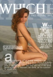 pinksnowbunny - Cover of WHICH Mag.