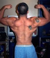 Carlo - back double biceps