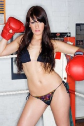 Jennifer Kendrick - Boxing shoot