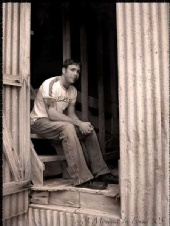 JR - Sittin on the stairs