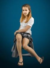Erica - Plaid Skirt