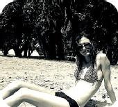Kayla - beachin' it