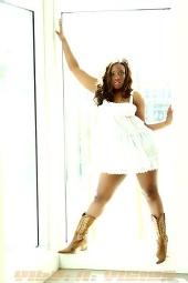Ebony Doss - White