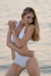 KeriLynn411 - 2007 White Swimsuit photo shoot