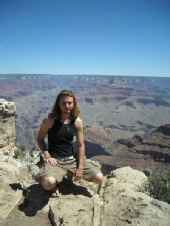Mike - me and the Grand Canyon