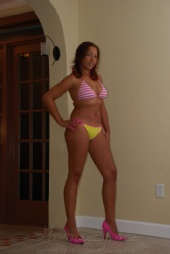Jen - lady in pink