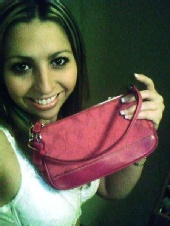 Jessica Levine - Jessica and her favorite Coach Bag!