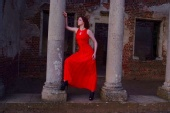 Phillippa - Red dress
