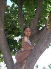 Desiree Brown - Tree climber