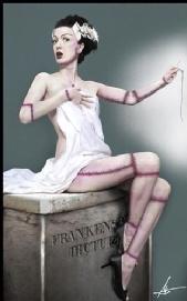 Starla - The bride of Elvgren