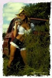 Amber Eudy - Me @ the Farm