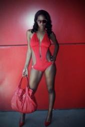 Ms.Hazel Skyy - Lady in Red