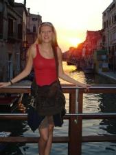 Robin - Me in Venice!