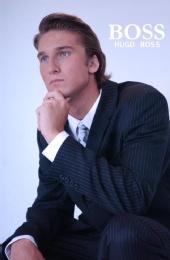 Landon Ashworth - Landon Ashworth for Hugo Boss