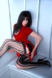 ArtSchoolJess - rolled stocking