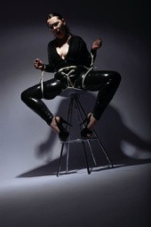 Switch Lydia Lamour - Latex Tied Heart