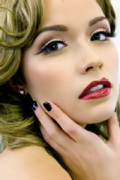 April Flowers - George Brown College Cosmetics Shoot