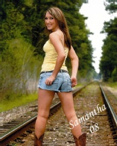 Sam - railroad tracks