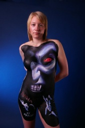 xxDawnxx - body art shoot