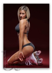 Angela Daniel - Rollerskates for American Junkie