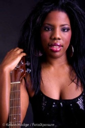 Black Beauty The Model - Me and my guitar