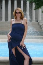 tallie - blue dress