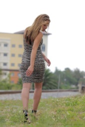 Aubrey Crawford - Walk by Railroad Tracks