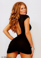 Stephanie Lear - Black Dress